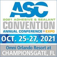 ASC 2021 Adhesive & Sealant Convention Annual Conference + Expo