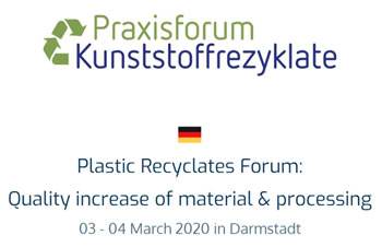 Plastic Recyclates Forum